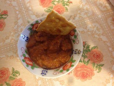 Punjabi bharta, una salsa di melanzane indiana che adoro http://blog.giallozafferano.it/ledomatrici/punjabi-bharta/: