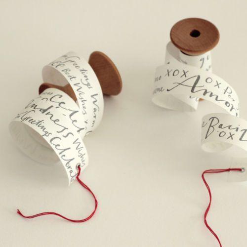 vintage spool, romantic saying, grommet & twine = Valentine  #DIY #Valentines #Craft #Clever #kids  Studio Carta Rotolino Greetings | eBay