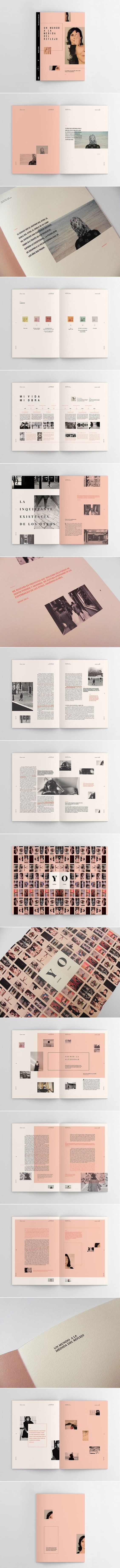 Cover & Layout / Sophie Calle - Hacedores de Mundo on Behance I like this book, i like the simple way that the work has been laid out. This book is published professionaly.