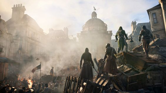 """""""ASSASSIN'S CREED UNITY"""" Vier Freunde sollt ihr sein! """"Assassin's Creed Unity"""" ist das erste Spiel der Reihe, das speziell für die neuen Konsolen entwickelt wurde. Die wichtigsten Infos."""