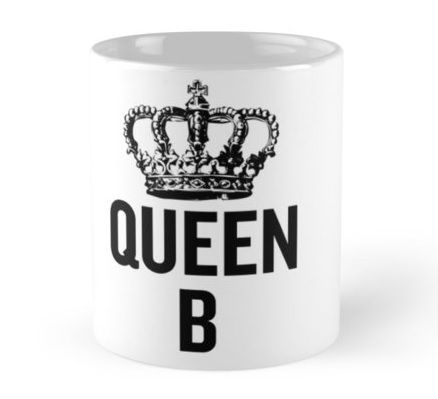 Great for Beyonce fans! Sip coffee from this mug and remind yourself to channel your inner Queen B, always.