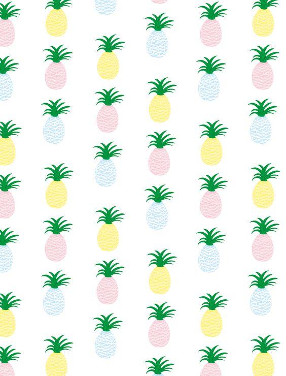 Pattern Pineapple by Mary Birdy  www.marybirdy.fr