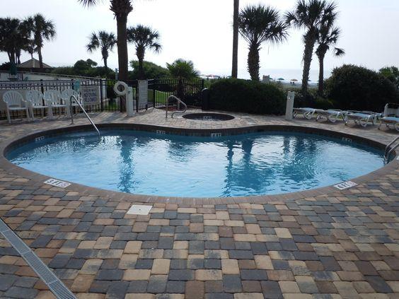 Pool, Schooner II Beach and Racquet Club, Myrtle Beach, South Carolina