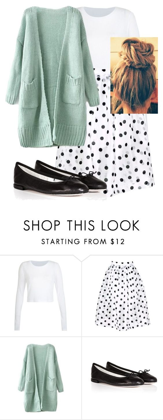 """""""Cute day out"""" by pentecostal ❤ liked on Polyvore featuring Repetto"""
