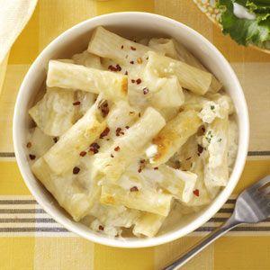 four-cheese baked ziti
