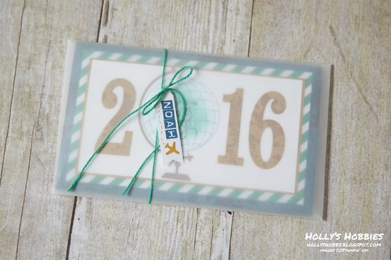 Make an envelope with vellum!!