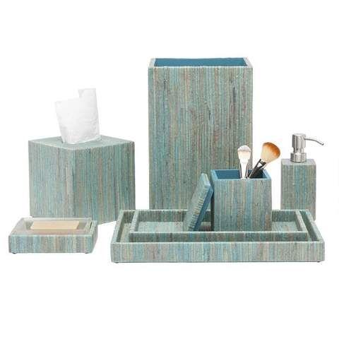 Bali Aqua Bathroom Accessories With Images Aqua Bathroom