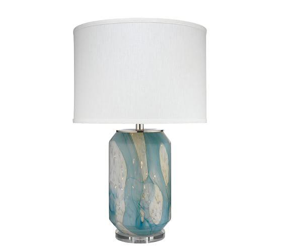Slater Table Lamp Desk Lamp Pottery Barn Lamp Table Lamp Drum Shade