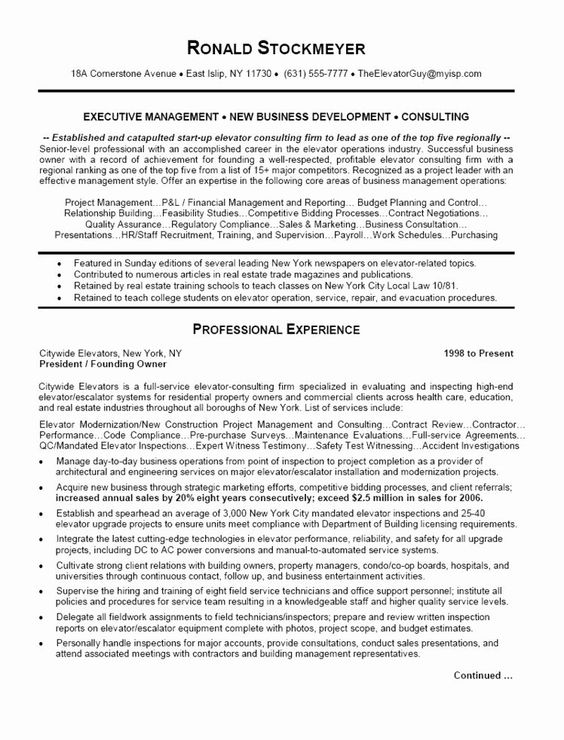 Business Operations Manager Resume Beautiful Business Operations Executive Resume