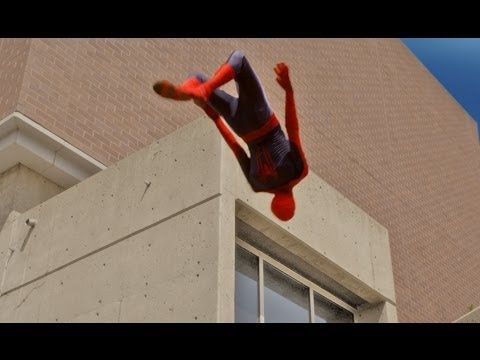When The Amazing Spider-Man Meets Parkour [Video]