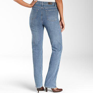 Lee® Classic Jeans, Womens Five Pocket. Stretch denim ...