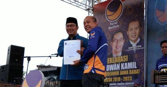 Manuver Nasdem Jerumuskan Ridwan Kamil