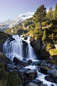 las cascada de aigualluts - Pyrenees