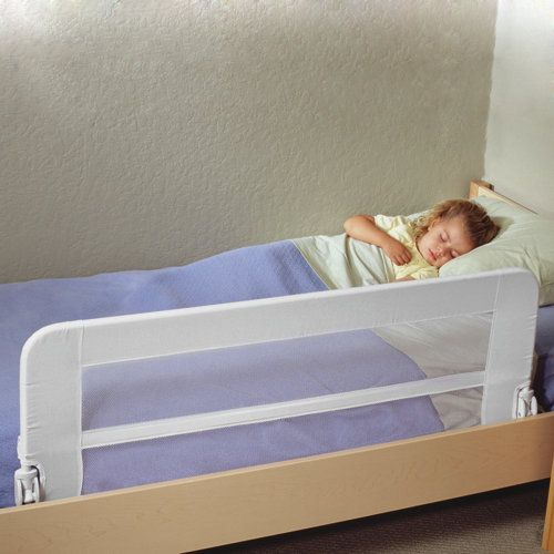 Safe sleeper universal bed rail we finally found a bed for Twin size toddler bed