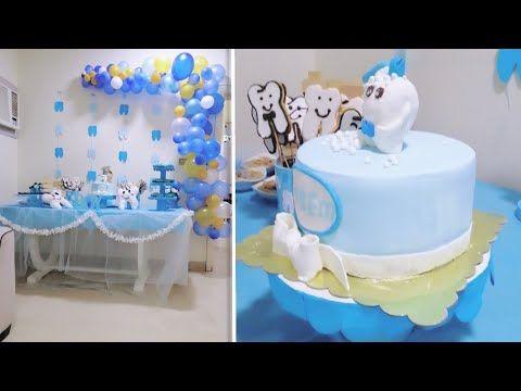 تزين حفلة سنونية اطفال بافكار متميزة سنونية عاصم طلع طلع سنوdis Cikarma Toreni 2019 Youtube Cake Diaper Cake Desserts
