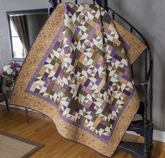 Quilt sheds and the o 39 jays on pinterest for Garden shed quilting