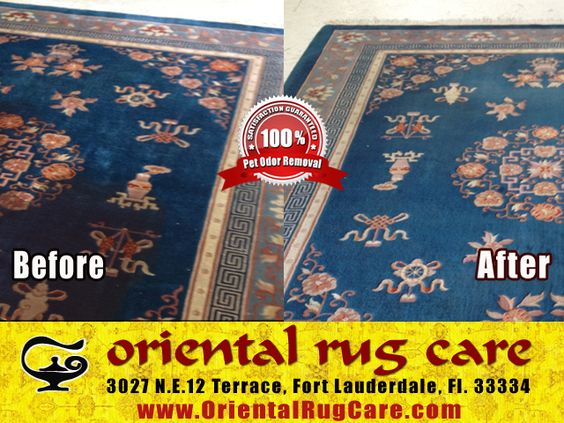 Professionally Oriental Rug Cleaning in Fort Lauderdale