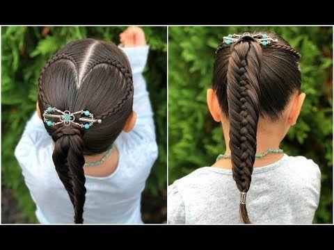 Peinado Trenza Corazon Y Coleta Para Ninas Peinados Faciles Y Rapidos De Hacer Lph Youtube Peinados Faciles Y Rapidos Coletas Faciles Peinados Faciles