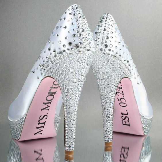 Custom Wedding Shoes - Design Your Pedestal - Custom Wedding Accessories
