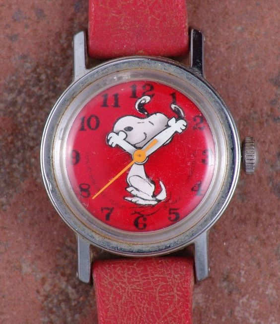 Pinterest the world s catalog of ideas for Snoopy watches