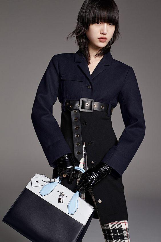 Un look de la Pre Colección 2016 de Louis Vuitton