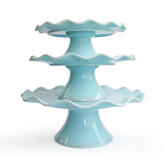 Have to have it. Garden Passion Set of 3 Pedestal Plate $72.99