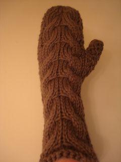 twilight chunky bella mittens