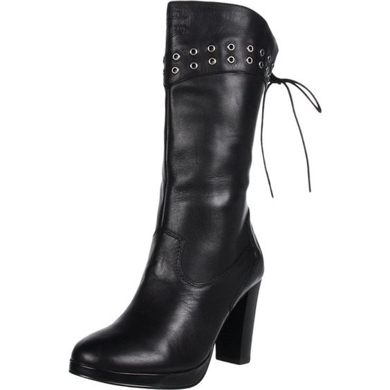 Harley-Davidson Women's Autumn Motorcycle Boot ($160) ❤ liked on Polyvore