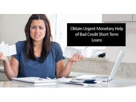 #BadCreditShortTermLoans in the UK from Loan Broker will help you find the best deals on the loans on low interest rates. Our advice on the Short Term Loans in the UK, will come your way as the most astonishing and practical option that you just don't like to miss out.  To ,know more :- http://www.freeads.co.uk/uk/services/financial-services/financial-advice/32032113/short-term-loans-to-pacify-bad-credit-situations/view#.V8-4plt961s