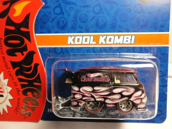 2013hotwheels gta mexio conventionkool kombi rr pinksuper rare 1 of - Rare Hot Wheels Cars 2013