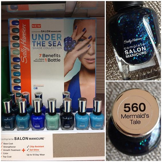 .@Tiffany Martinez   I spotted the Sally Hansen Under the Sea collection today at Walgreens! I onl...   Webstagram