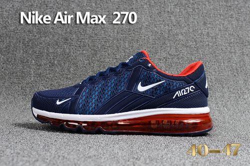 Nike Air MAX Flair Nike 270 KPU Men Black Red 40 47 in 2019