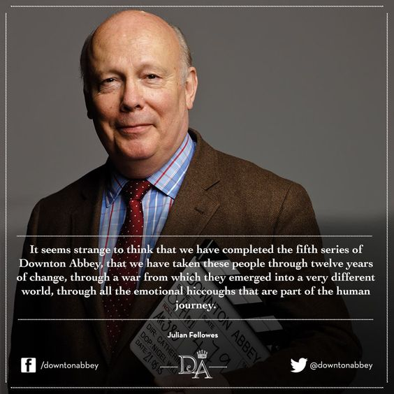 """This year's book, a Year in the Life of Downton Abbey includes an inspiring foreword from Downton Abbey's creator, Julian Fellowes, """"I like the idea of recording a year in the life of Downton""""."""