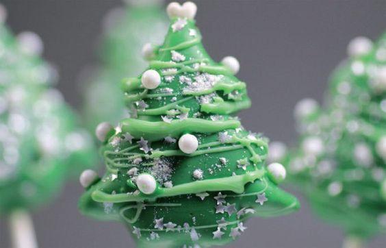 Cake Pops Rezept Tannenbaum - Cake Pops: Rezept zum Nachmachen