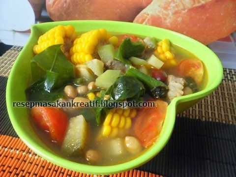 3 Bumbu Spesial Resep Sayur Asem Jawa Paling Segar Praktis Sederhana Vegetable Recipes Food Recipes