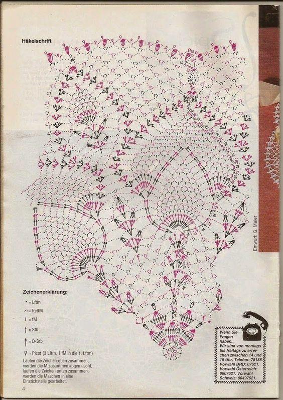 Kira scheme crochet: Scheme crochet no. 568: