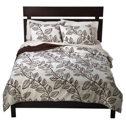 Room Essentials® Climbing Leaf Comforter.Opens in a new window