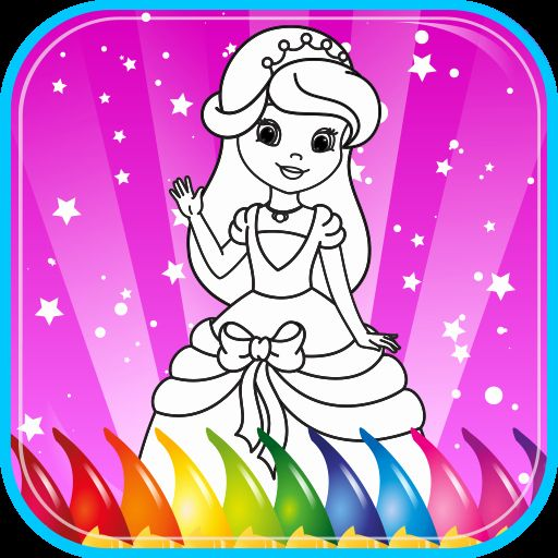 - Online Coloring Games For Toddlers Inspirational Princess Coloring Book For Kids  Color… In 2020 Princess Coloring Pages, Disney Princess Coloring Pages,  Princess Coloring