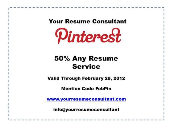 Resume Basics, Part 1 Career Services Pinterest - resume consultant