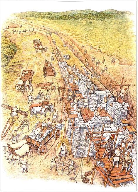 """Early development of Hadrian's Wall"""