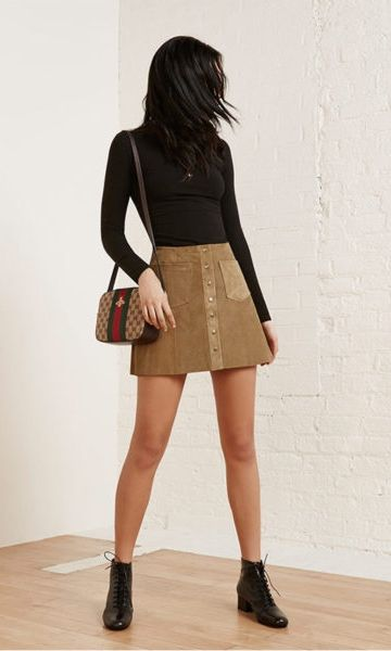 The Reformation bi-annual sale is on. Score It girl pieces at majorly slashed prices, including a ton of product that's brand new to the site. Tucson Skirt $167