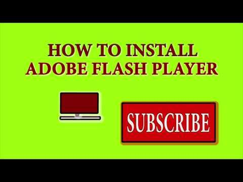 How Can I Get Adobe Flash Player To Work