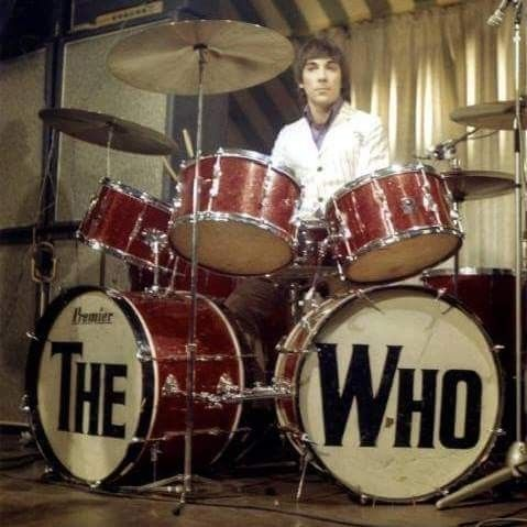 The Who S Awesome Drummer Keith Moon With Images German Tv Shows