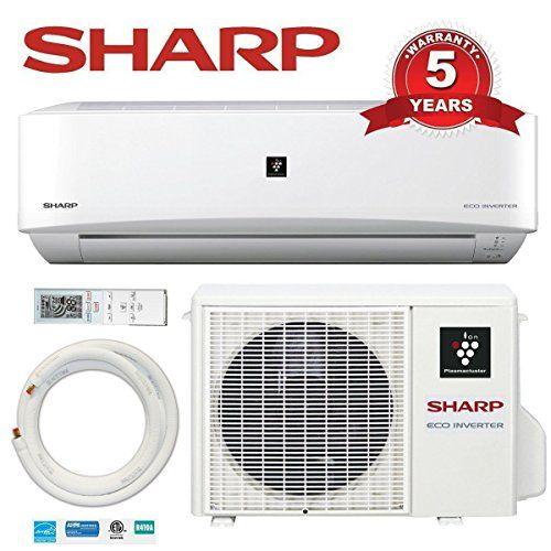 9000 Btu Sharp 22 Seer Ductless Mini Split Dc Inverter Air