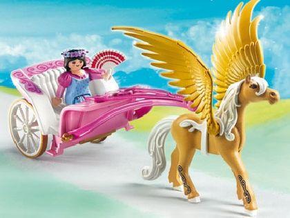 Pegasus wagon   PLAYMOBIL 5143 Pegasus-Kutsche