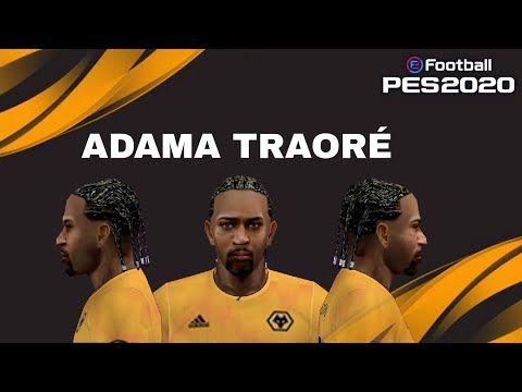 Face Hair Adama Traore Para Psp Youtube Em 2020 Youtube Cabelo
