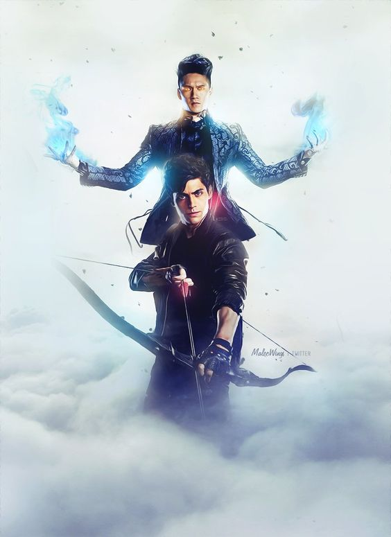 Malec, oke the movie And serie were terrible, but this pic is quite nice!
