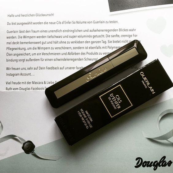 Спасибо магазину Douglas за предоставленную возможность протестировать туш от Guerlain.  Vielen Dank an Douglas für die Gelegenheit diese super Mascara zu testen!