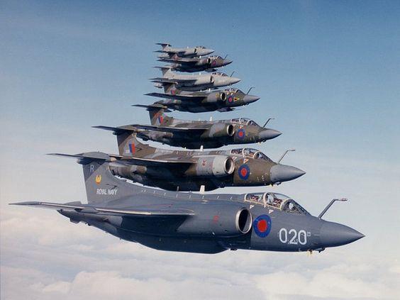 Blackburn Buccaneer (RN/RAF) by Geraldo2006, via Flickr