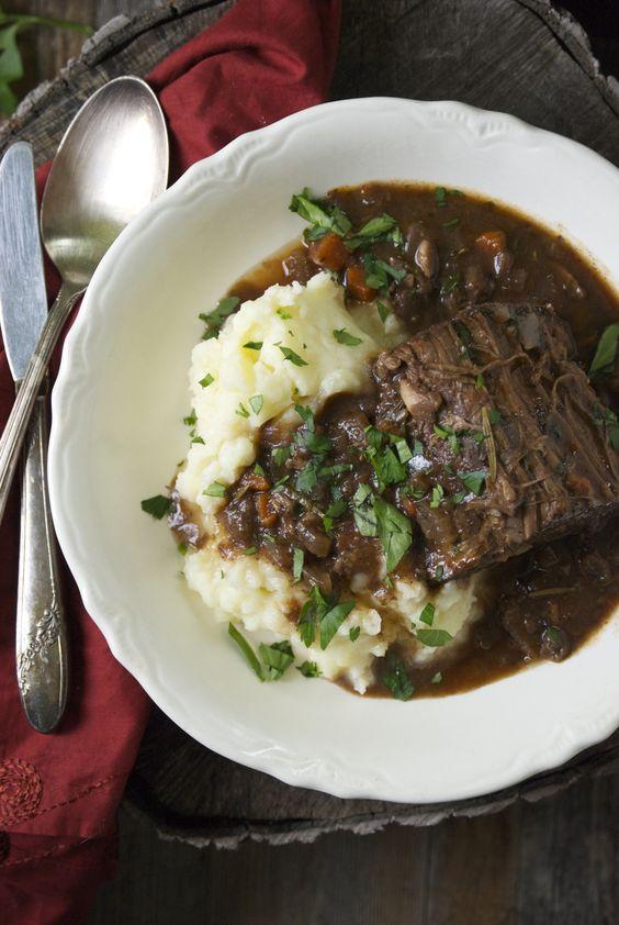 ... braised beef beef braise beef entrée beef roasts pot roast slow
